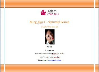 Ebook – Ming Kua 1 – Vytrvalý Tvůrce