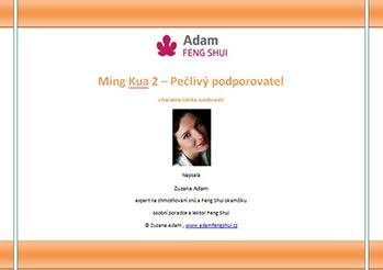 Ebook – Ming Kua 2 – Pečlivý Podporovatel