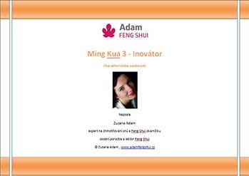 Ebook – Ming Kua 3 – Inovátor