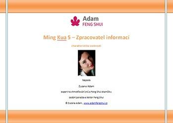 Ebook – Ming Kua 5 – Zpracovatel Informací