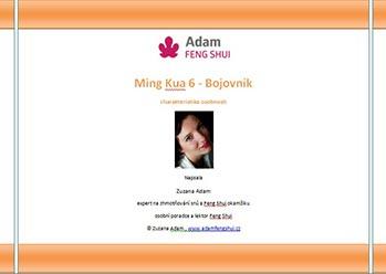 Ebook – Ming Kua 6 – Bojovník
