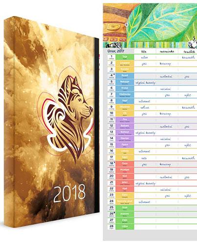 Diář 2018 + Kalendář