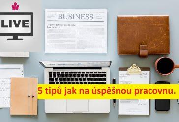 5 Tipů Jak Na úspěšnou Pracovnu.