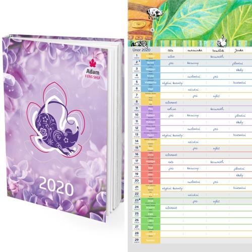 Diář 2020 + Nástěnný Kalendář 2020