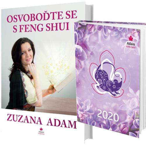 Diář 2020 + Kniha