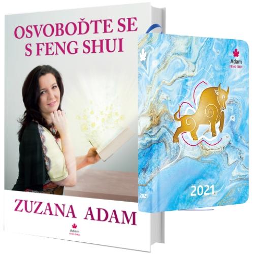 Diář 2021 + Kniha