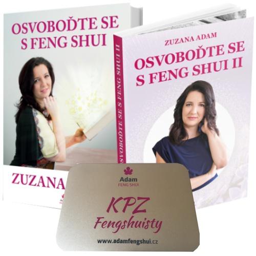 Kniha Osvoboďte Se S Feng Shui I. A II. + KPZ