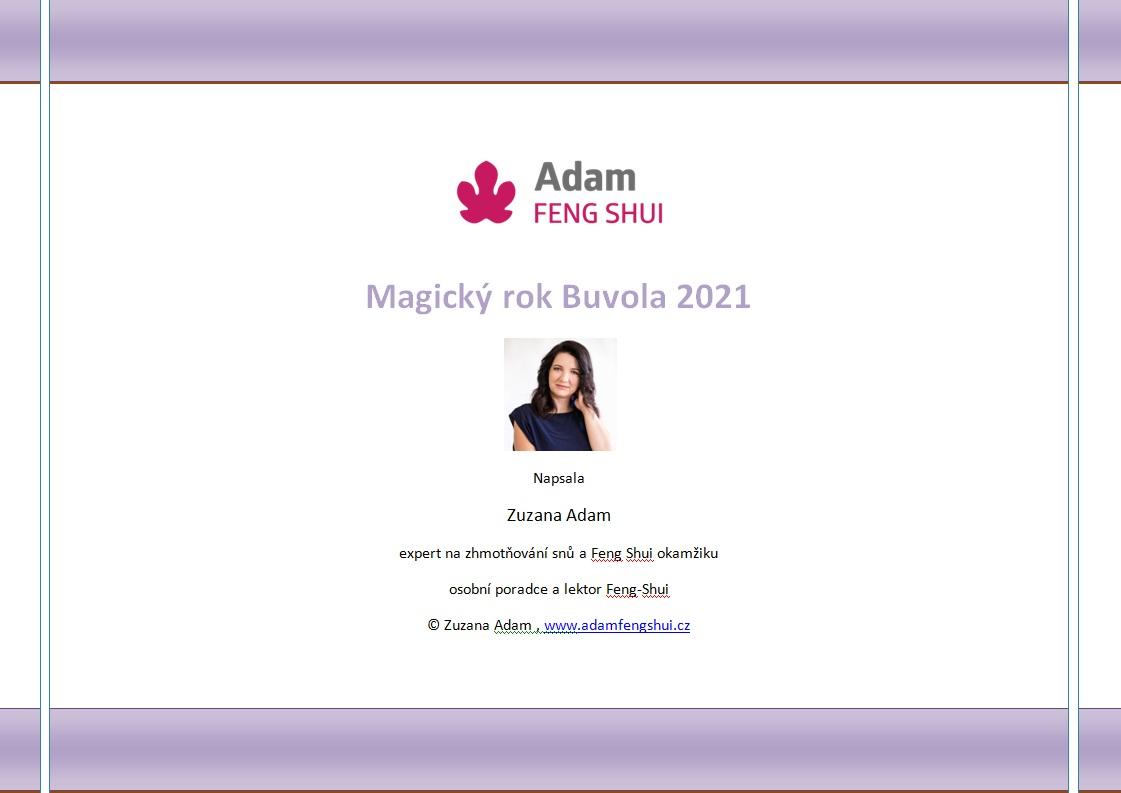 Ebook – Magický Rok Buvola 2021