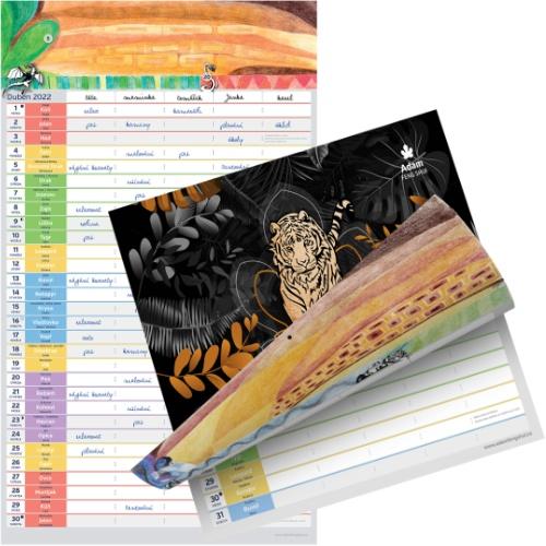 Nástěnný Kalendář 2022