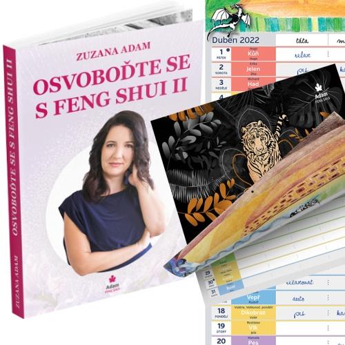 Kniha Osvoboďte Se S Feng Shui II. + Kalendář 2022